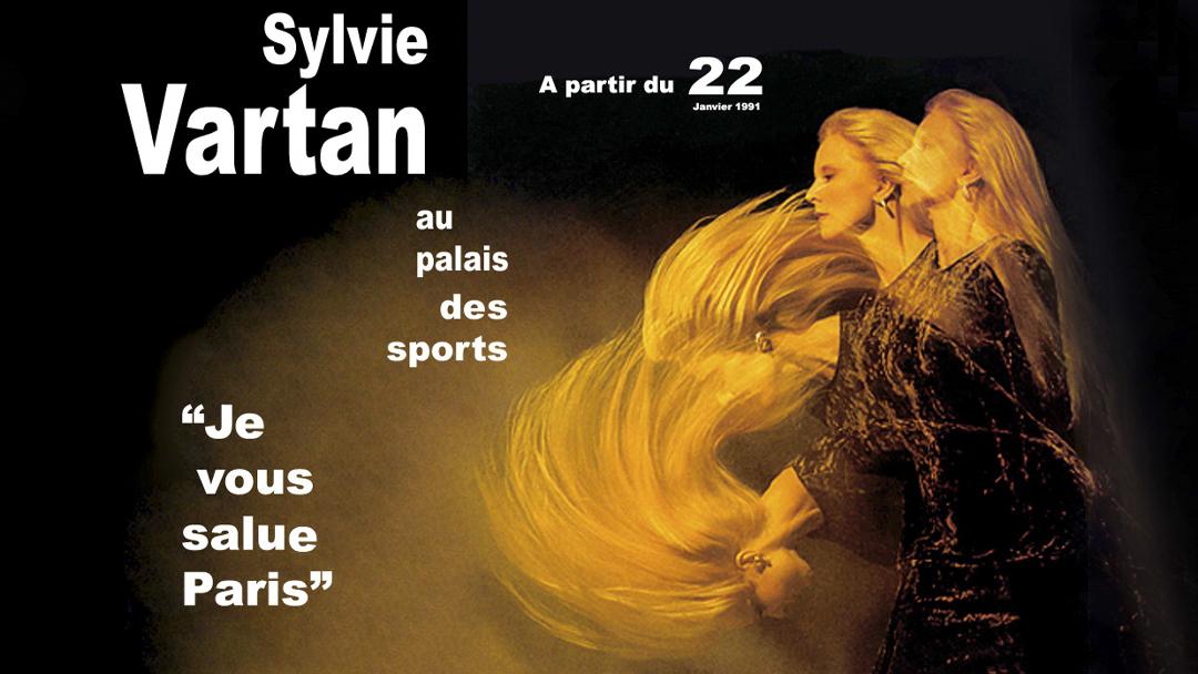Sylvie Vartan Au Palais Des Sports 1991