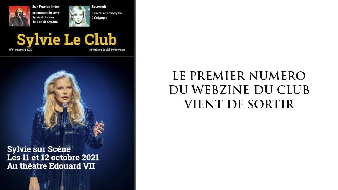 Webzine du Club : le premier numéro .